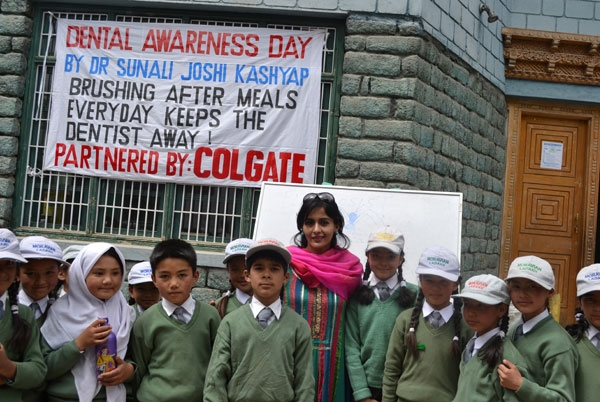 Free Dental Camp at Leh\'s Moravian Missionary School